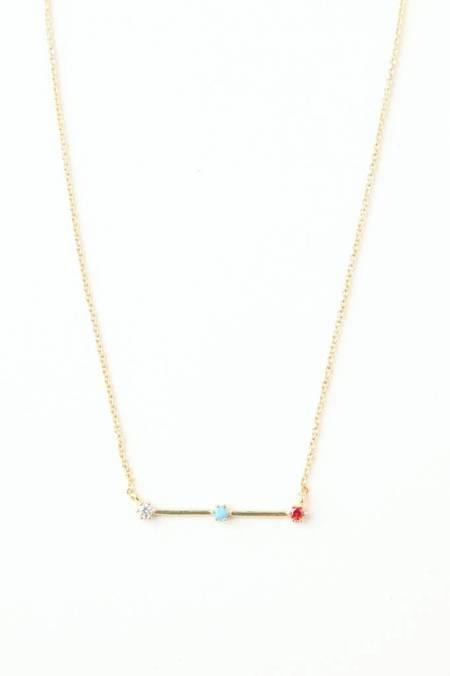 tai Stone & Stick Pendant Necklace