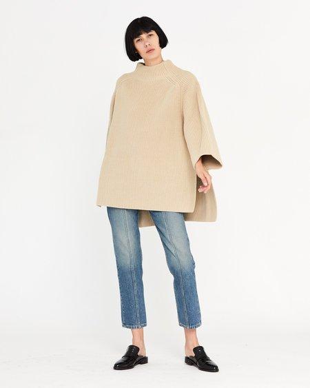Esby Yates Oversized Sweater - Sand