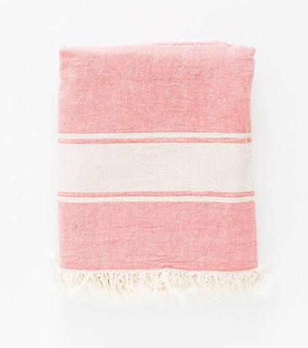 Turkish-T Classic Throw - Coral