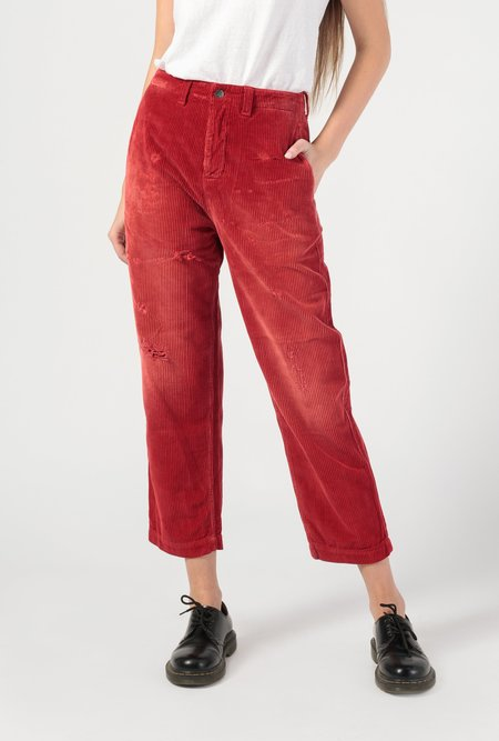 PRPS Monte Carlo Corduroy Jean - red