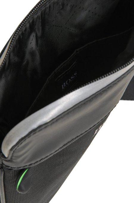 Hugo Boss Lightec S Zip Env Shoulder Bag  - Black