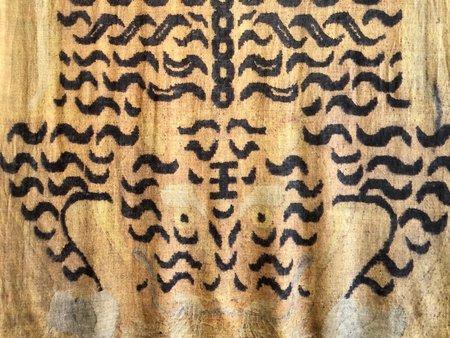 Matta NY Tibetan Sher Shawl - Gold Tiger