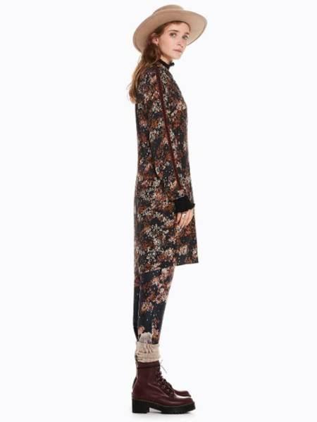 Maison Scotch Shirt Dress - Blossom Print