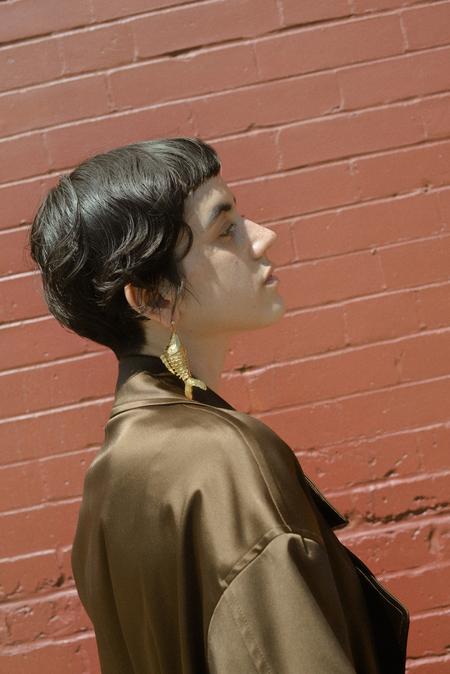 SVNR Ningbo Earring (Single) - Gold