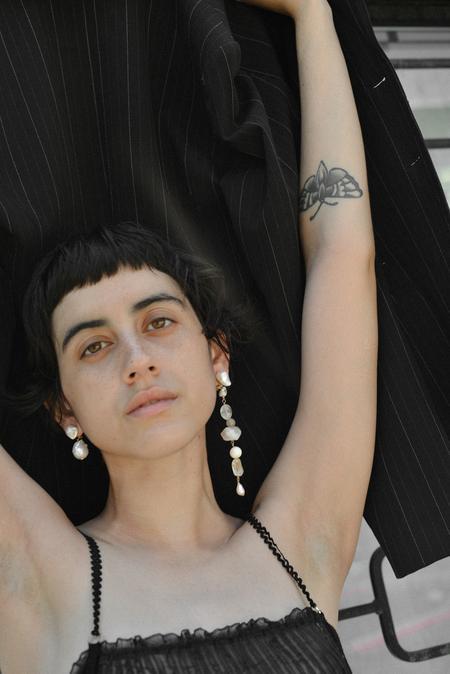 SVNR Marquesas Earring - Baroque Pearl
