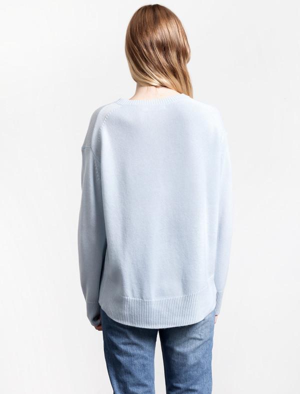 Organic by John Patrick Potato Sweater Sky Blue