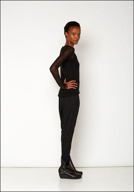 Rundholz Black Label Drop Crotch Legging - BLACK