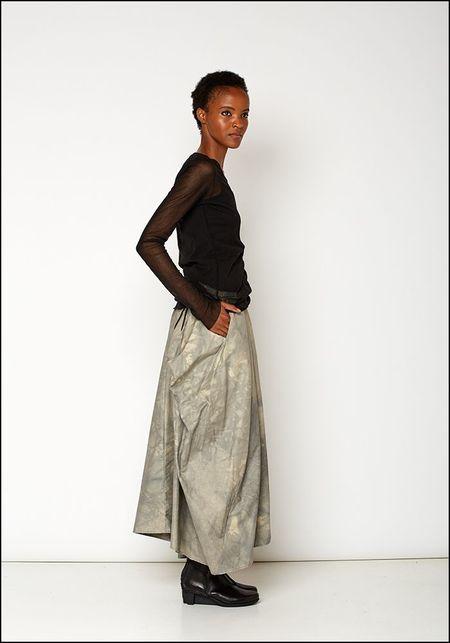 139DEC Painted Bubble Skirt - BEIGE
