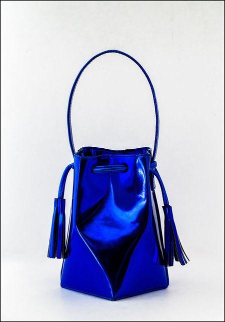 The Common Knowledge Mini Prism Bag - BLUE