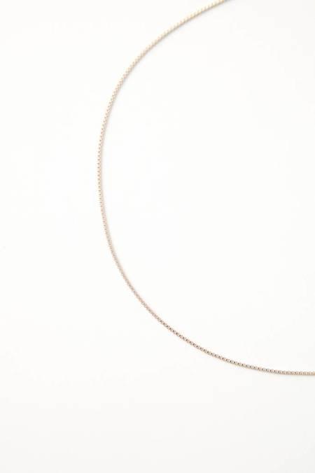 Leah Alexandra Box Chain Necklace
