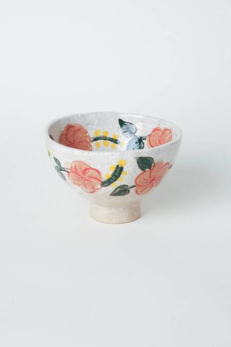 Alice Cheng Studio Small Floral Footed Bowl