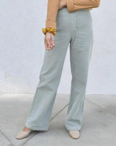 Paloma Wool Clara Pant - Aquamarine