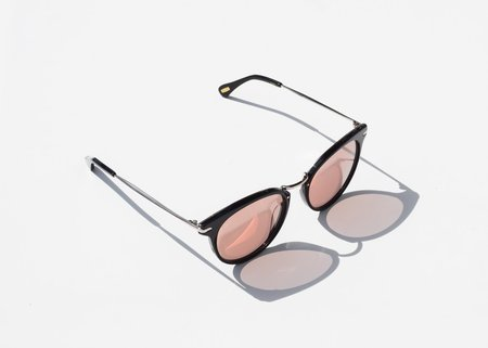 Raen Norie Alchemy Sunglasses - Black/Sunrise Gold