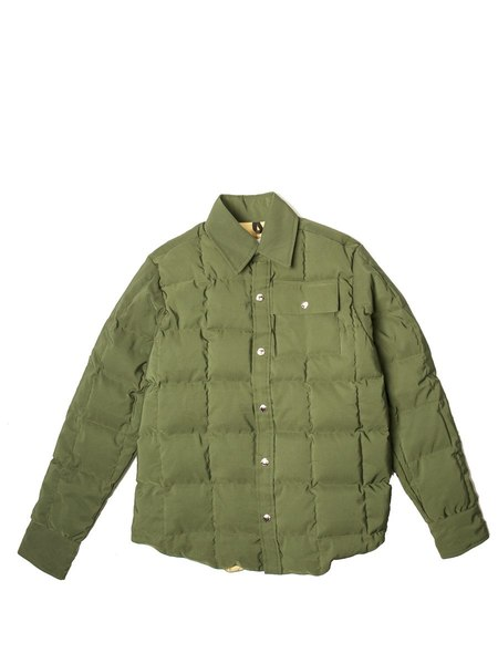 CRESCENT DOWN WORKS 60/40 Down Shirt - Olive