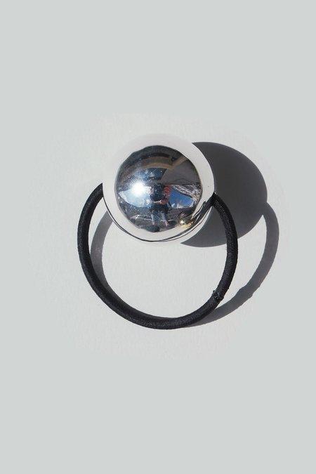 Saskia Diez Bell Hair Tie No2 - Silver