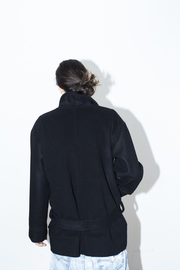 Men's Assembly New Yorl Cropped Robe Coat