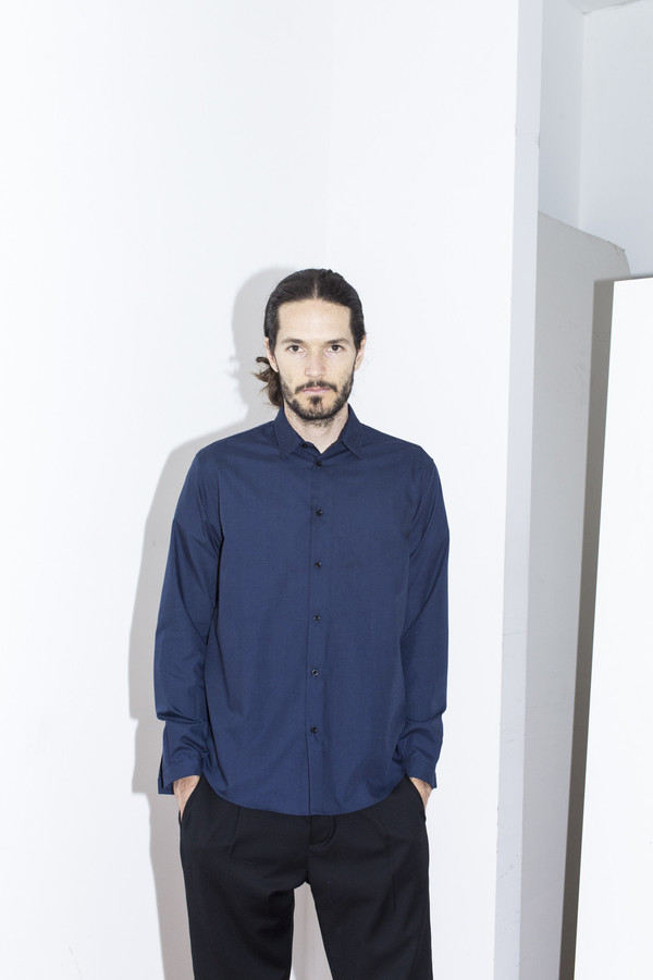 Men's Assembly New York Blue Standard Shirt