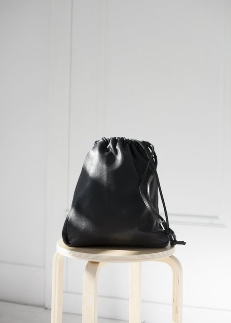 Are Studio Cortina Drawstring Bag - Onyx