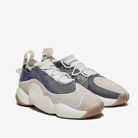 ADIDAS X BRISTOL Crazy BYW LVL II Sneaker - White/Cloud White
