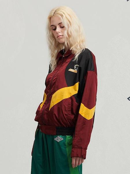 Unisex DUQIYAN Designer Brand Jacket Alien Style Without A Cap - Red