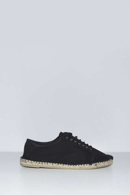 Unisex Assembly New York Plaza Black Espadrille