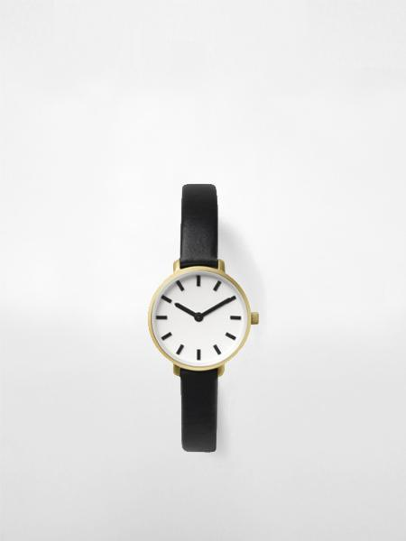 Breda Beverly Watch - White/Black