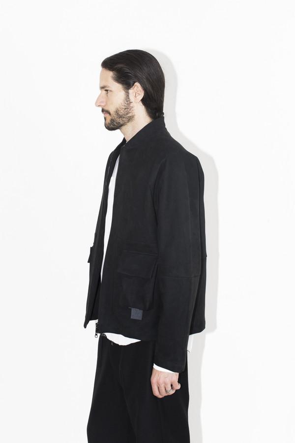 Men's Berthold Engineered Suede Jacket