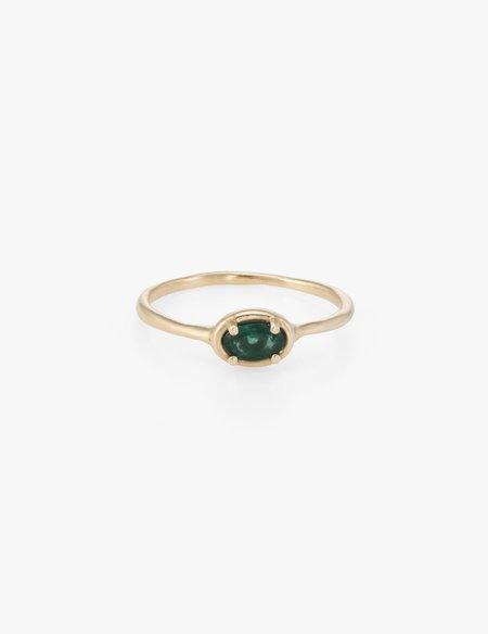 Kathryn Bentley Sapphire Ellipse Ring