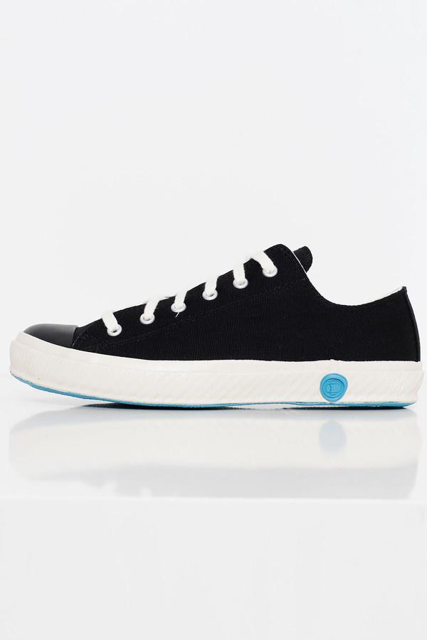 Unisex Shoes Like Pottery Black Canvas Sneaker