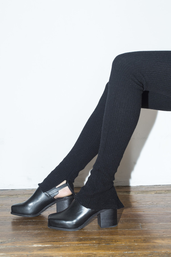 Intentionally Blank Black Honcho Slingback