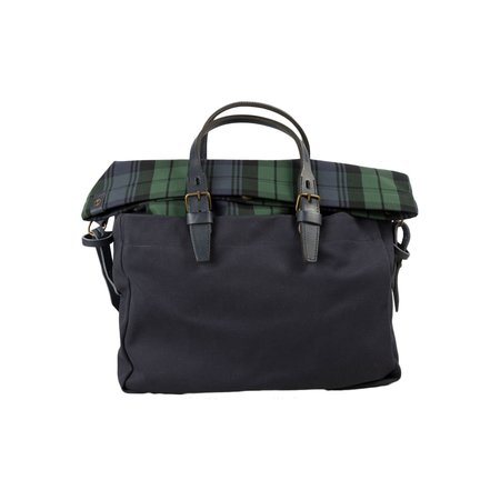 Bleu de Chauffe Business Bag Remix - Tartan