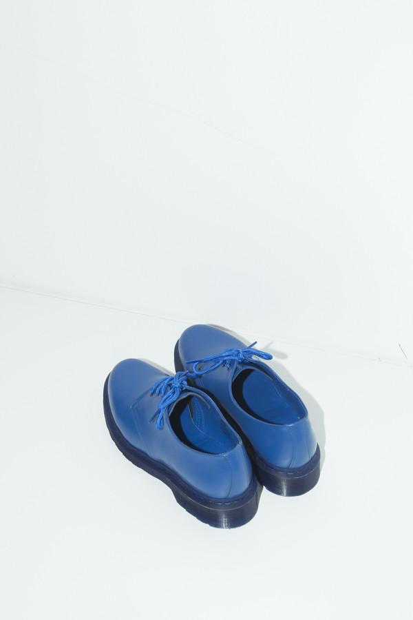 Unisex Dr. Martens Blue 1461 Lace-up Oxford