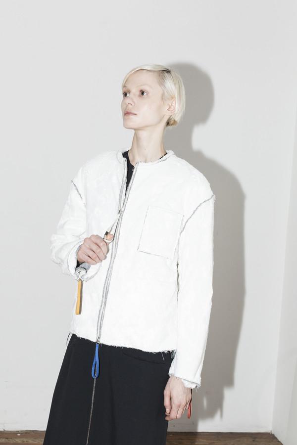 C.F. Goldman Grey Art Jacket