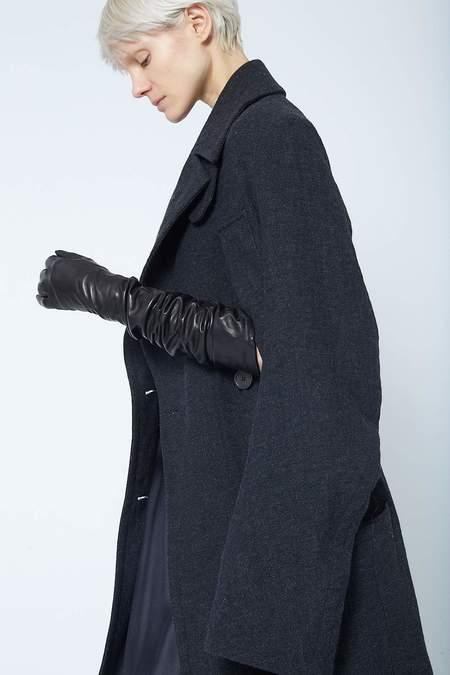 Carolina Amato Leather Dress Glove