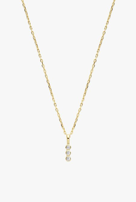 Stella and Bow Rossi Necklace - Gold Vermeil
