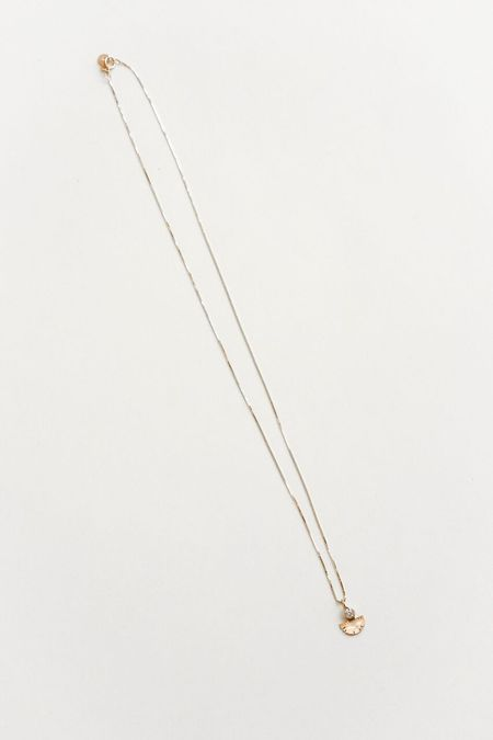 Young in the Mountain Diamond Aquila Necklace - Gold