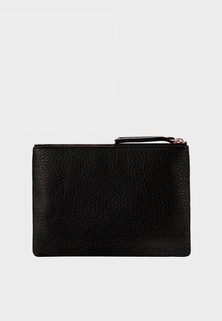 Status Anxiety Treacherous Pouch Wallet - Black