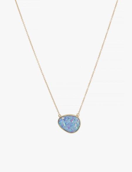Kathryn Bentley Opal Slice Necklace