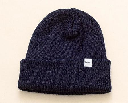 Druther's Druthers Recycled Cotton Knit Beanie - Indigo