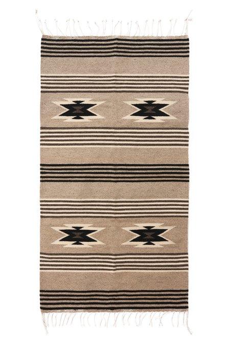 Whimsy & Row Zapotec Rug - Grey Multi Striped