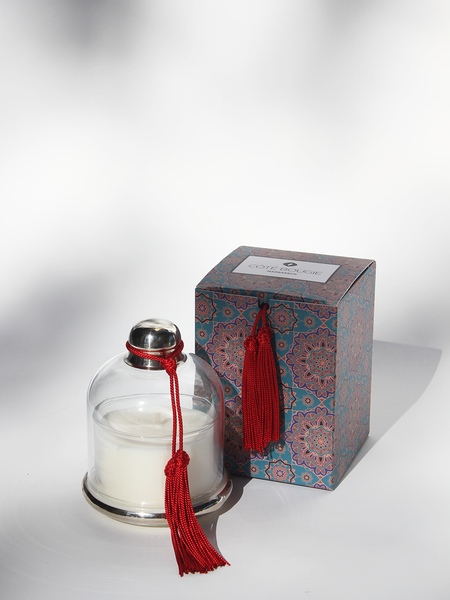 COTE BOUGIE Candle Cloche - Rouge Cedre de L'Atlas