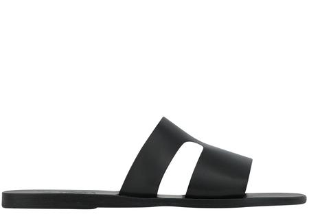 Ancient Greek Sandals Apteros Sandal - Black