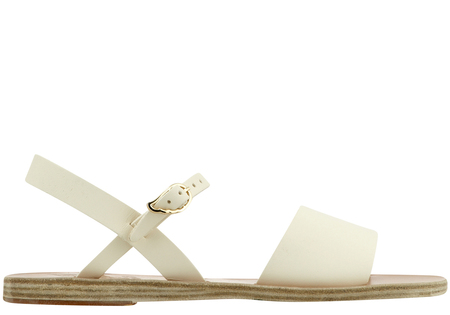 Ancient Greek Sandals Kaliroi Sandal - Off White