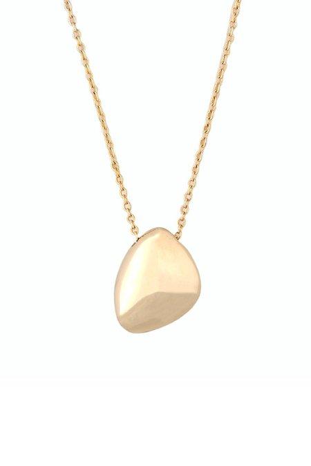 Soko Jiwe Pendant Necklace - brass