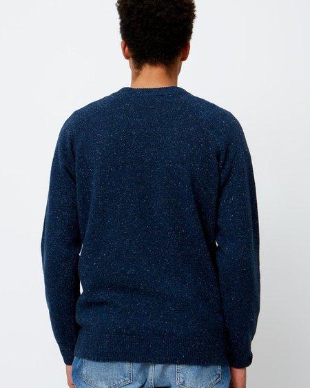 Wood Wood Samuel Sweater - Blue