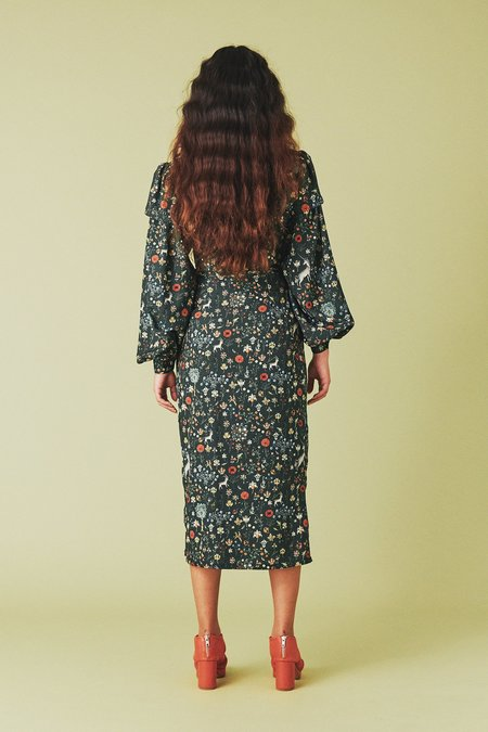 Samantha Pleet Embrace Skirt - Black Unicorn Print