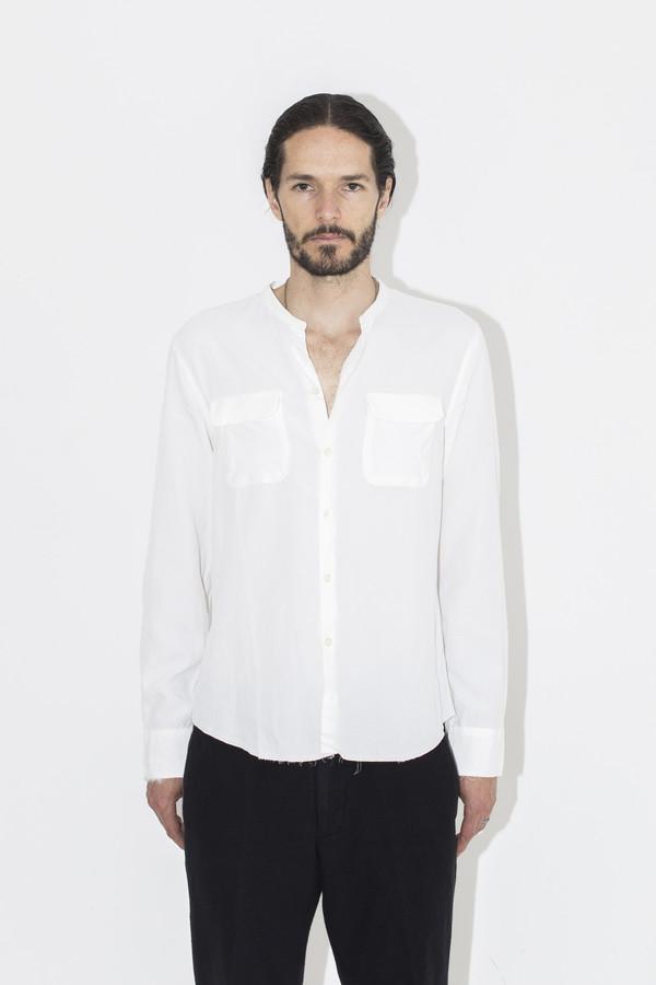 Men's Ones Stroke Bemberg No Collar Shirt