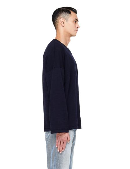 Visvim Embroidered Sweater - Navy Blue