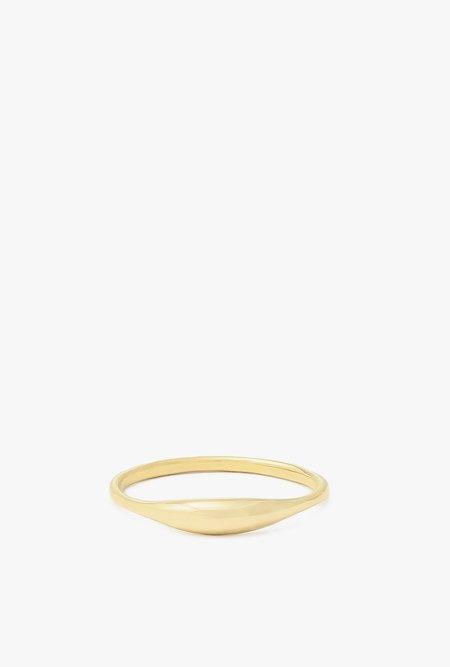 Ochre Objects Ovate II Ring - 14k Gold