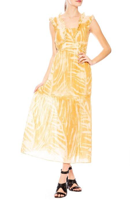 Amanda Bond Emma Dress - Gold Leaf